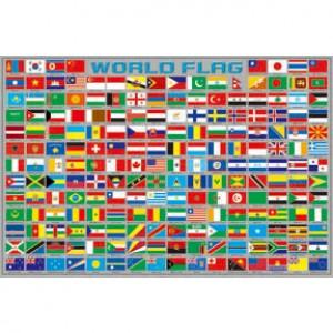 01-001 收集世界 世界國旗拼圖1000片