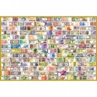 01-002 收集世界 世界紙鈔拼圖1000片