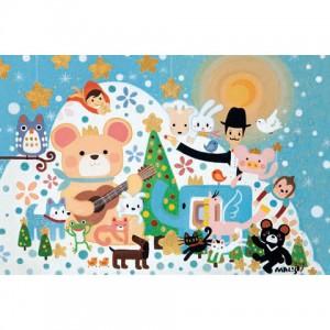 01-011 馬里斯創作系列-聖誕Wish  1000片盒裝拼圖