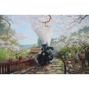 01-022 台灣鐵道-阿里山鐵道-星光大道 1000片拼圖