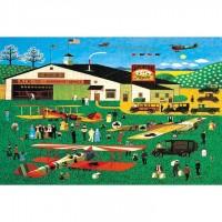 HM1000-213 滑翔翼聚會 Sailplane Gathering 1000片夜光拼圖