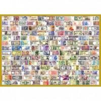 25-001 收集世界 世界紙鈔拼圖520片