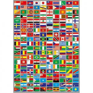 25-002 收集世界 世界國旗拼圖520片