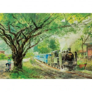25-029 台灣鐵道系列 十分的汽笛聲 520片拼圖