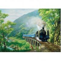 25-030 台灣鐵道系列-逐鹿山林  520片拼圖