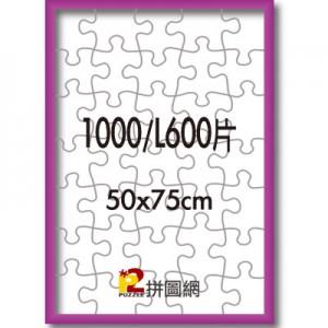 ALF-002 桃紅色1000/L600片鋁框