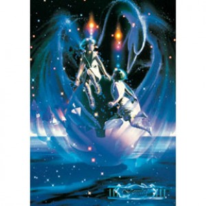 HM1000-018 浪漫星座系列-雙子座夜光拼圖1000片