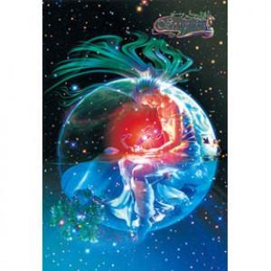 HM1000-093 浪漫星座系列-天蠍座夜光拼圖1000片