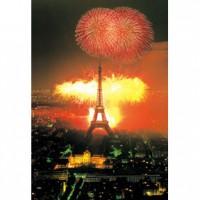 HM1000-159 巴菲爾鐵塔夜光拼圖1000片