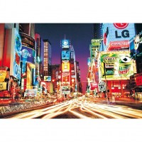 HM1000-216 紐約時代廣場 1000片夜光拼圖