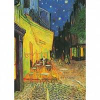 HM1600-003 夜晚的露天咖啡座夜光拼圖1600片