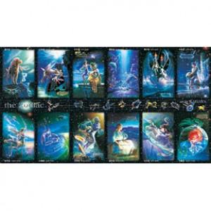 HM2000-012 十二星座大集合夜光拼圖2000片