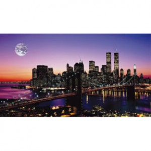 HM2000-016 布魯克林橋夜光拼圖2000片
