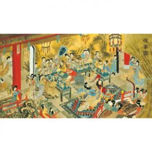 HM2000-026 百仕夜宴圖夜光拼圖2000片
