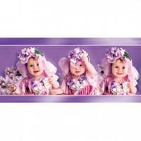 HM51-002 紫色系嬰兒拼圖510片