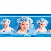 HM51-003 藍色系嬰兒拼圖510片