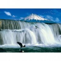HM52-600 瀑布-富士山拼圖520片