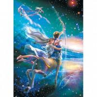 HM520-051 浪漫星座系列-射手座夜光拼圖520片