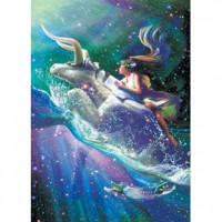 HM520-061 浪漫星座系列-金牛座夜光拼圖520片