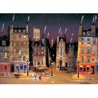 HM520-084 深夜的街道夜光拼圖520片