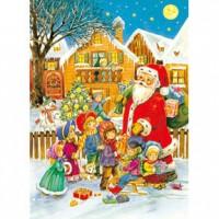 HM520-087 聖誕禮物夜光拼圖520片
