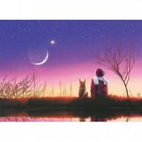 HM520-093 秋-月色夜光拼圖520片