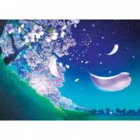 HM520-094 春-花之夜色夜光拼圖520片