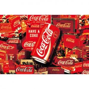 HML600-004 可口可樂夜光拼圖600片