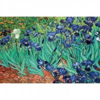 K01-004名畫系列-梵谷_鳶尾花 Irises1000片夜光拼圖