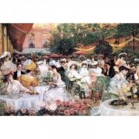 K01-005名畫系列-珍妮歐-麗池飯店的晚餐 Dinner at the Ritz Paris