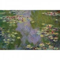 K01-006名畫系列-莫內睡蓮(Water Lilies)1000片夜光拼圖