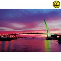 K25-004 台灣之美 新北市 淡水漁人碼頭 520片夜光拼圖