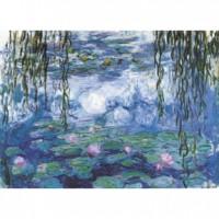 K25-009 名畫系列-睡蓮(莫內 Monet)520片夜光拼圖