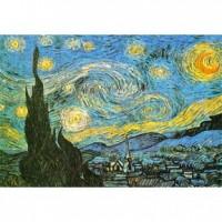K25-011 名畫系列- 星空 (梵谷Van Gogh ) 520片夜光拼圖