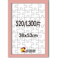WD1225-04 粉紅色520/L300片平面木框
