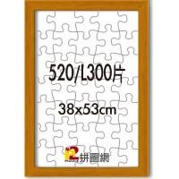 WD1225-12 柚木色520/L300片平面木框