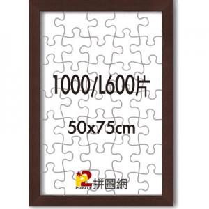 WD1225-15 咖啡色1000/L600片平面木框