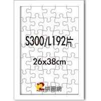 WD1225-19 白色S300/L192片平面木框