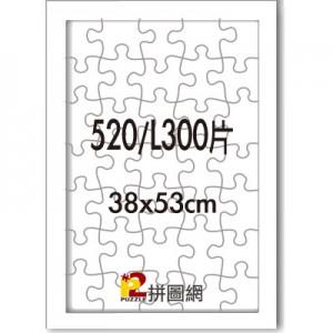 WD1225-19 白色520/L300片平面木框