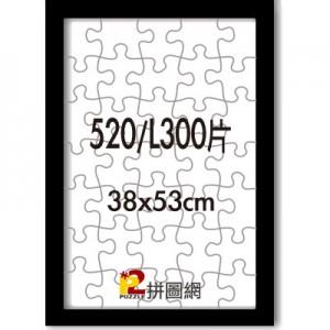 WD1225-20 黑色520/L300片平面木框