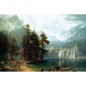 1000片拼圖 名畫: 內華達山脈