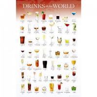 HM100-278 世界調酒集拼圖1000片