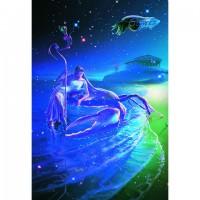 HM1000-048 浪漫星座系列-巨蟹座夜光拼圖1000片