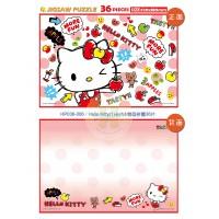 Hello Kitty(1)卡片&雙面拼圖36片