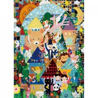 520片拼圖 馬里斯創作系列:愛的路上