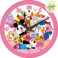 Mickey Mouse&Friends米奇與好朋友時鐘拼圖168片-D002