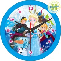 Frozen冰雪奇緣 時鐘拼圖168片-D005