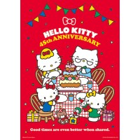 Hello Kitty【45周年系列】家庭時光(A)拼圖520片-163