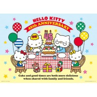 Hello Kitty【45周年系列】家庭時光(B)拼圖520片-164