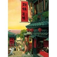 K25-025 520片夜光拼圖 林宗範系列-小城故事